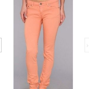 The North Face Skinny Jeans Coral Denim Color 4